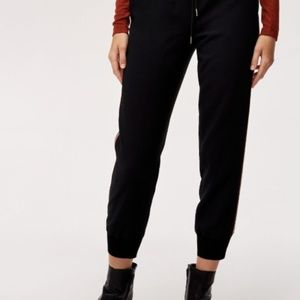 Wilfred Pants - Aritzia Wilfred Buffon Pant Black, size M